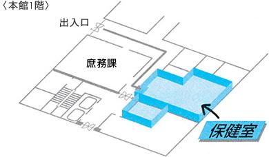 保健室の場所